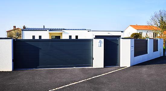 portail-cloture-portillon-aluminium-contemporain