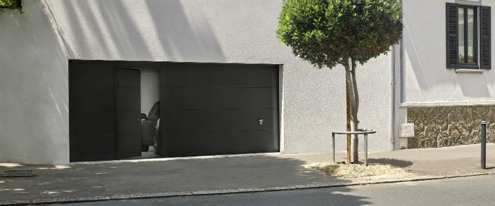 Portillon à ouverture intérieure sur votre porte de garage! Nouveauté!